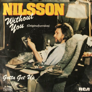 "Harry Nilsson (Nilsson) - Without You (7"") (VG-/G-VG)"
